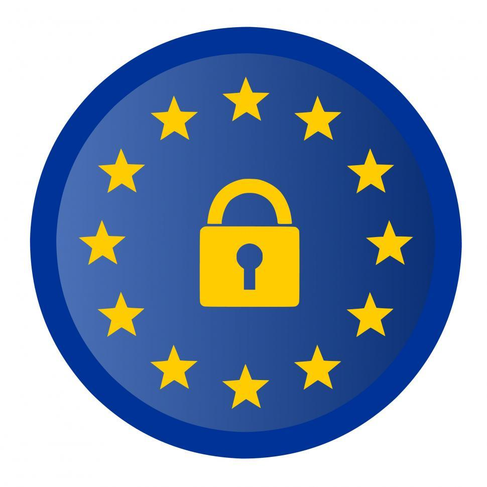 Download Free Stock HD Photo of gdpr icon  Online