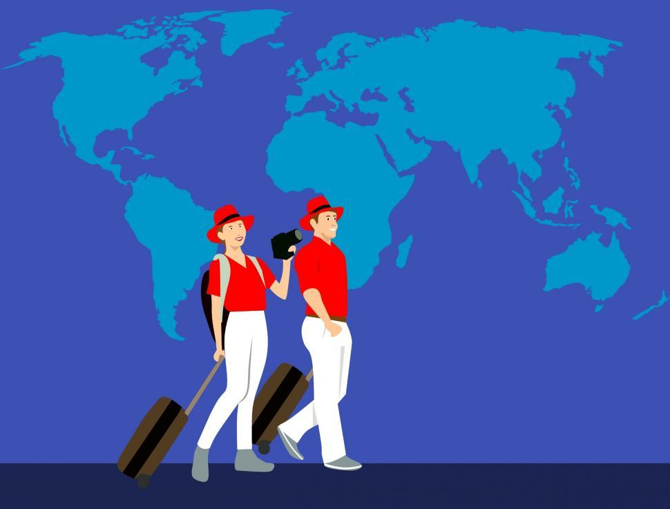 Download Free Stock HD Photo of traveling Illustration  Online