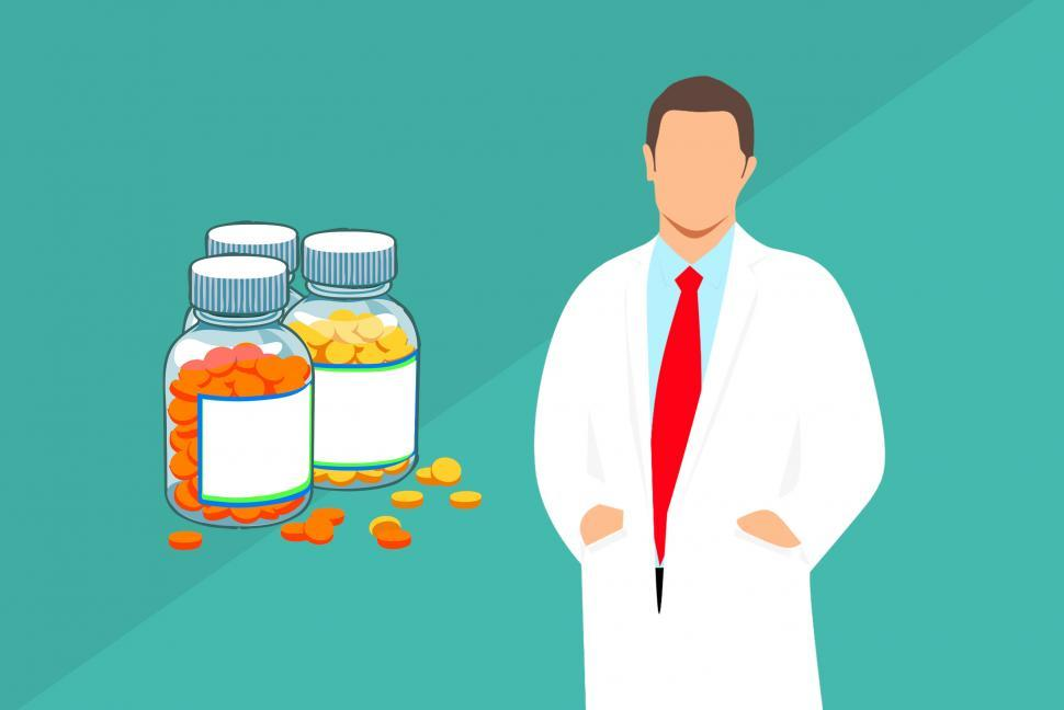 Download Free Stock HD Photo of pharmacist Illustration  Online