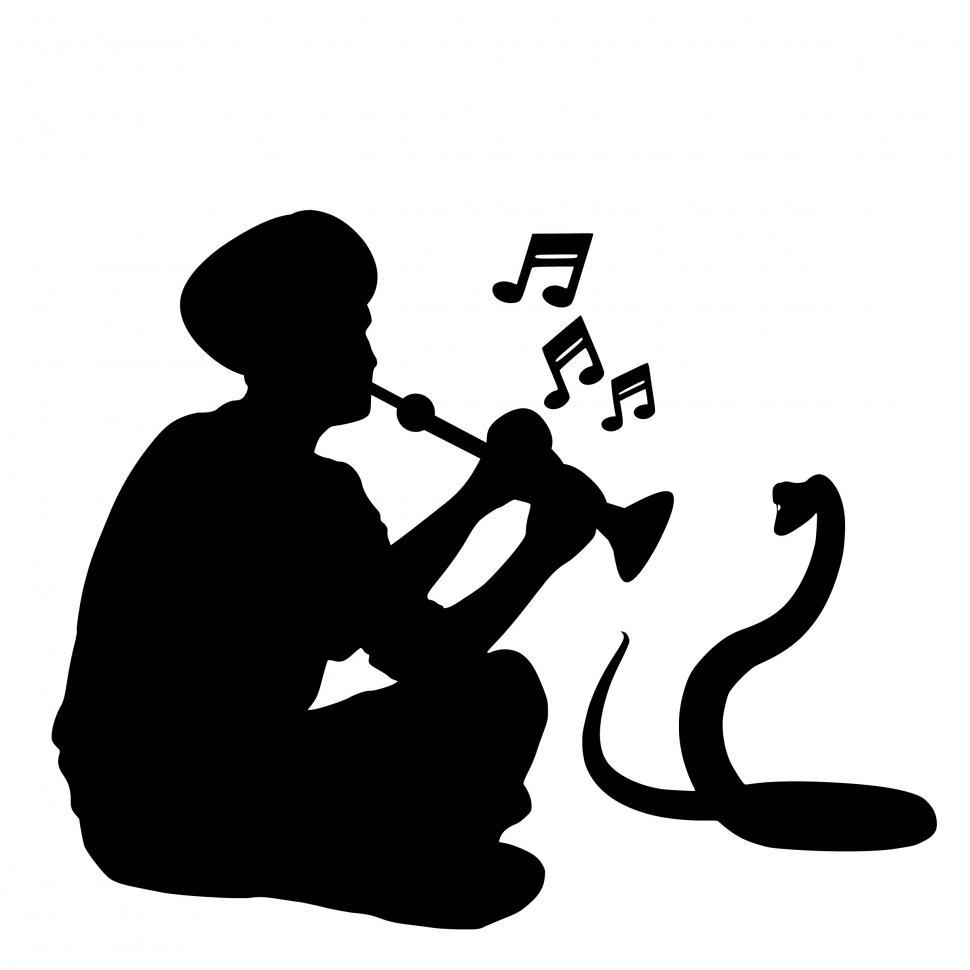 Download Free Stock HD Photo of snake charmer Silhouette  Online