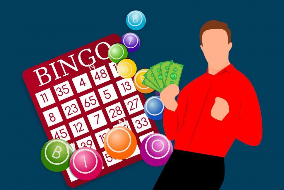 Download Free Stock HD Photo of bingo winner  Online