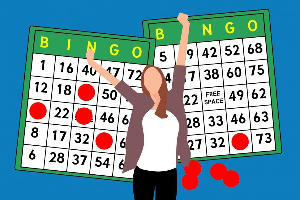 Download Free Stock HD Photo of bingo winner  Online