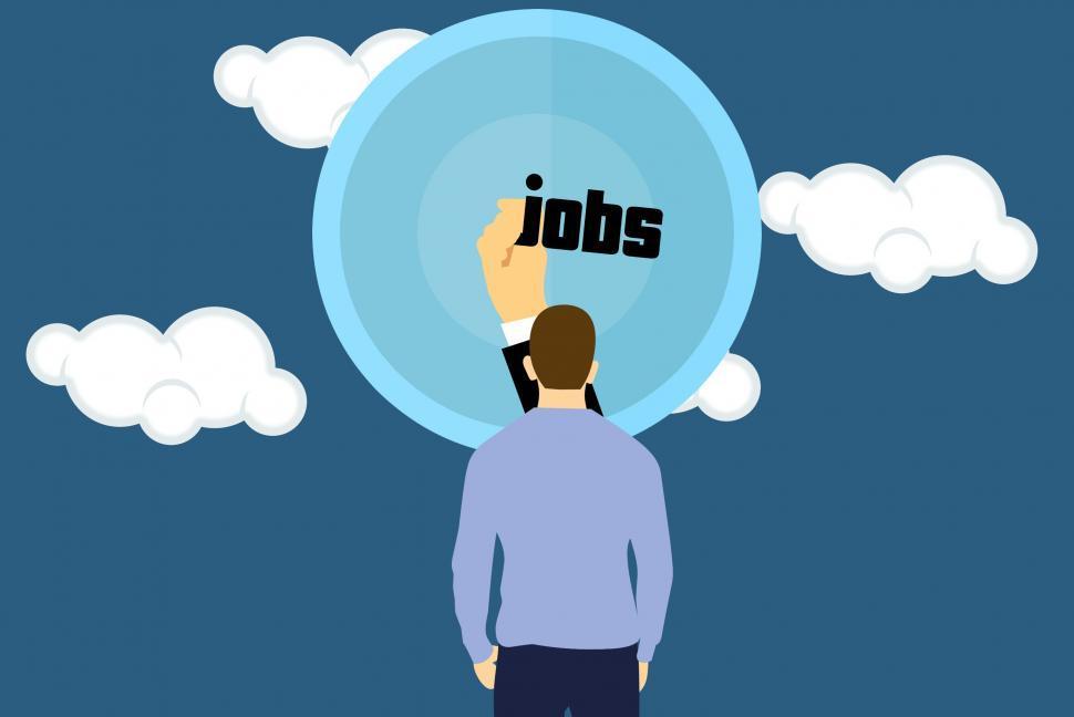 Download Free Stock HD Photo of job seeker  Online