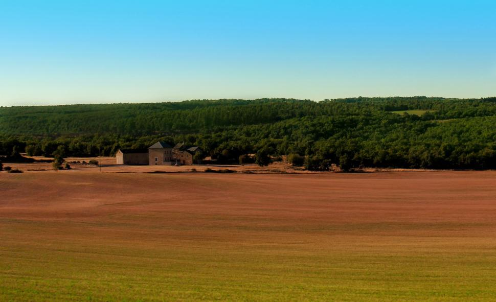 Download Free Stock HD Photo of Farm - Rural Landscape - Southern France - Languedoc Online