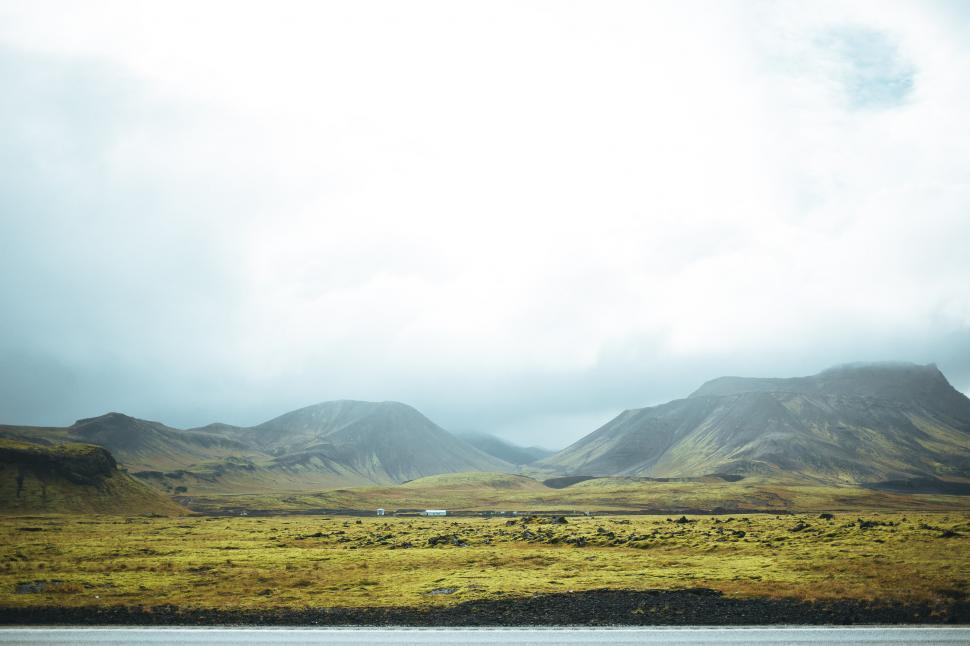 Download Free Stock HD Photo of Meadows in summer Iceland Online