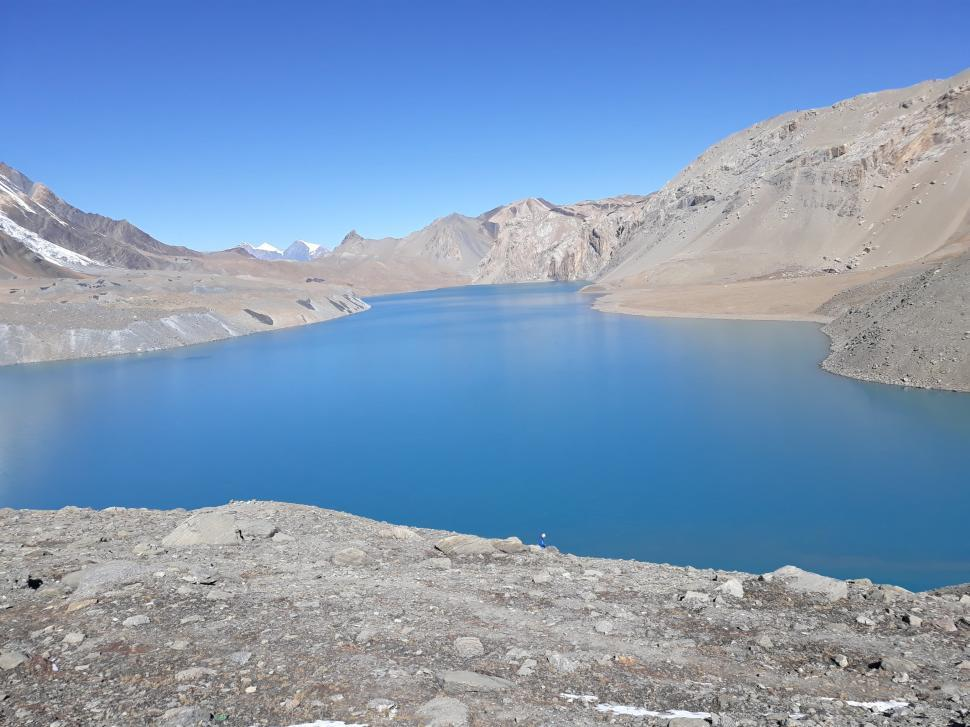 Download Free Stock HD Photo of Tilicho Lake - Nepal Online
