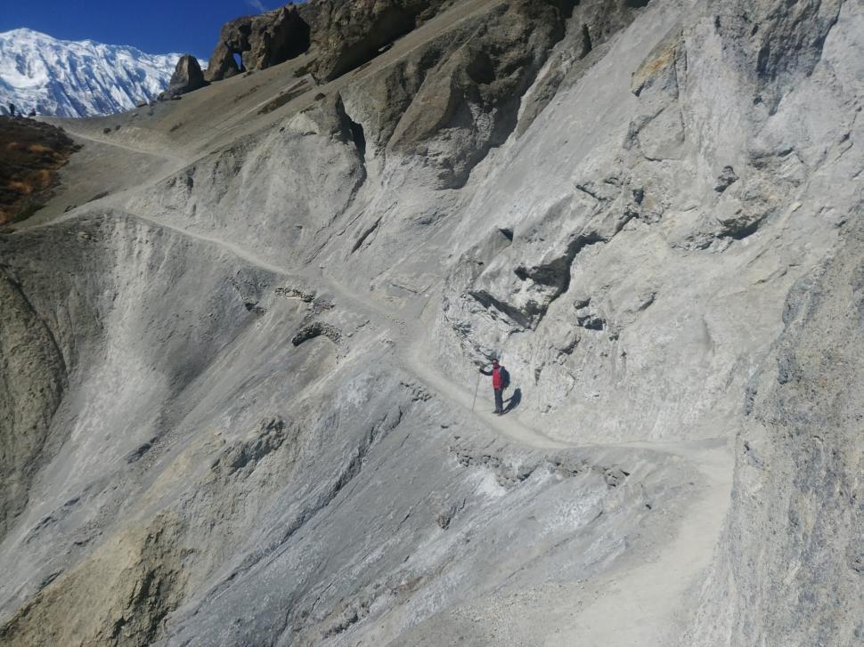 Download Free Stock HD Photo of Tilicho Lake Trekking Trail Online