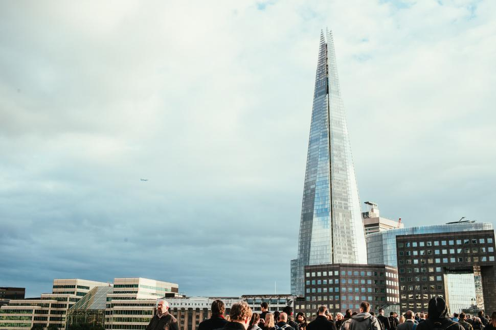 Download Free Stock HD Photo of The Shard, skyscraper in London, England Online