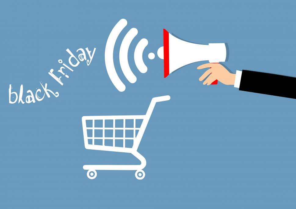 Download Free Stock HD Photo of Black Friday shopping  Online