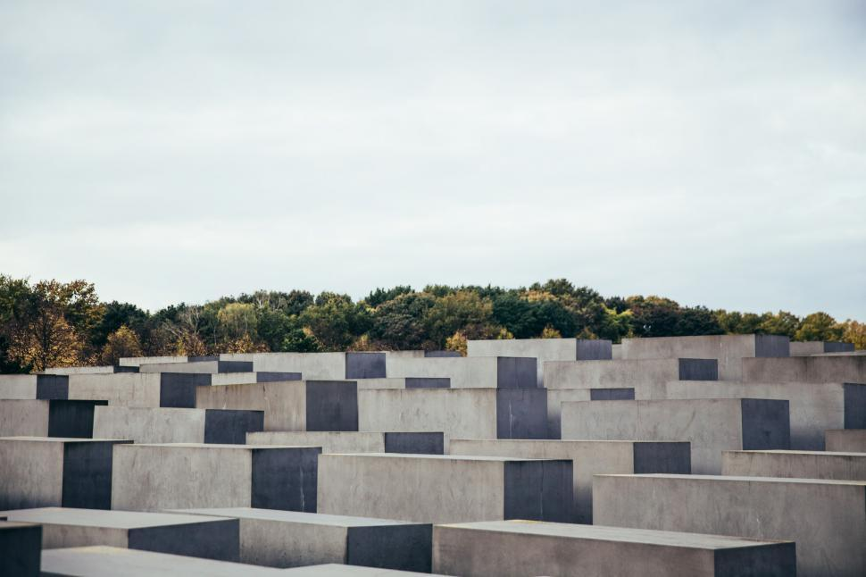 Download Free Stock HD Photo of Holocaust Memorial in Germany Online