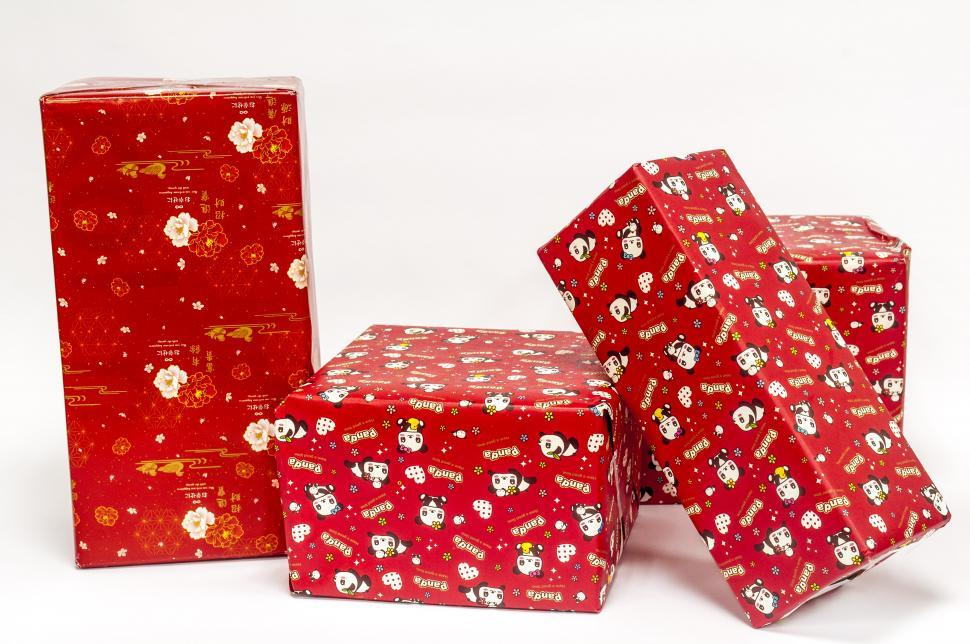 Download Free Stock HD Photo of red present gift  Online