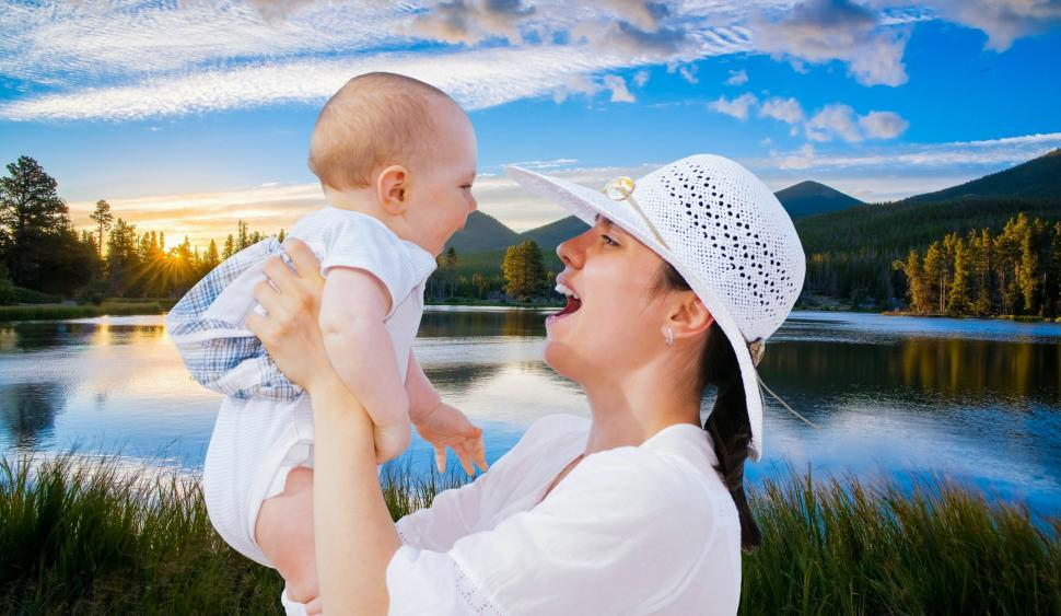 Download Free Stock HD Photo of happy Mother  Online