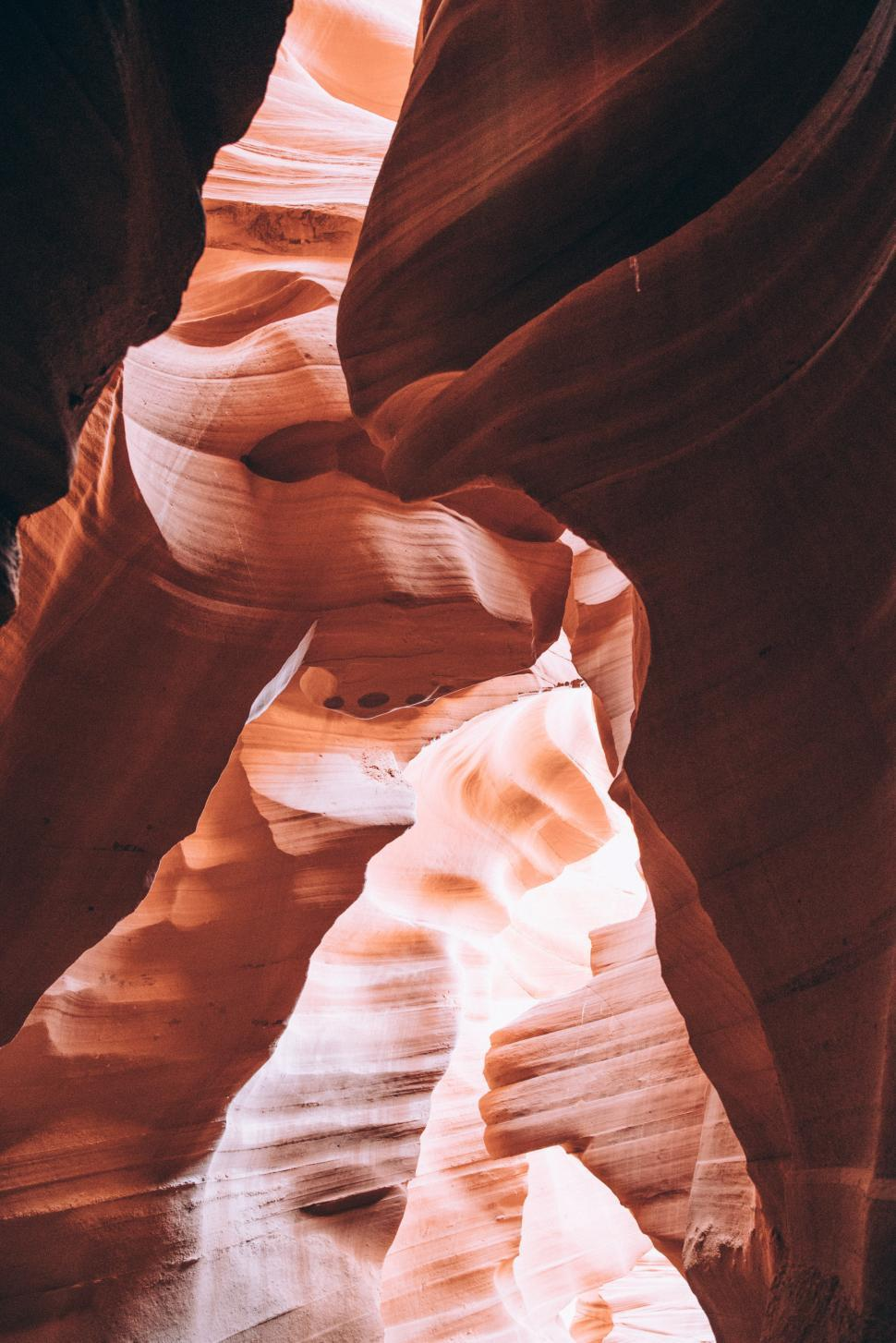 Download Free Stock HD Photo of Inside Antelope slot canyons Online
