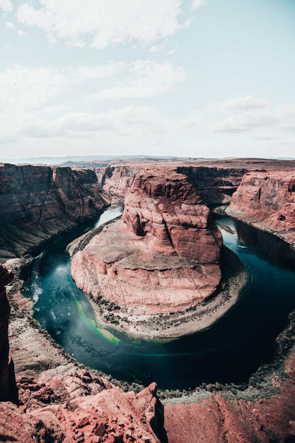 Download Free Stock HD Photo of Wide view of Horseshoe bend, Colorado river Online