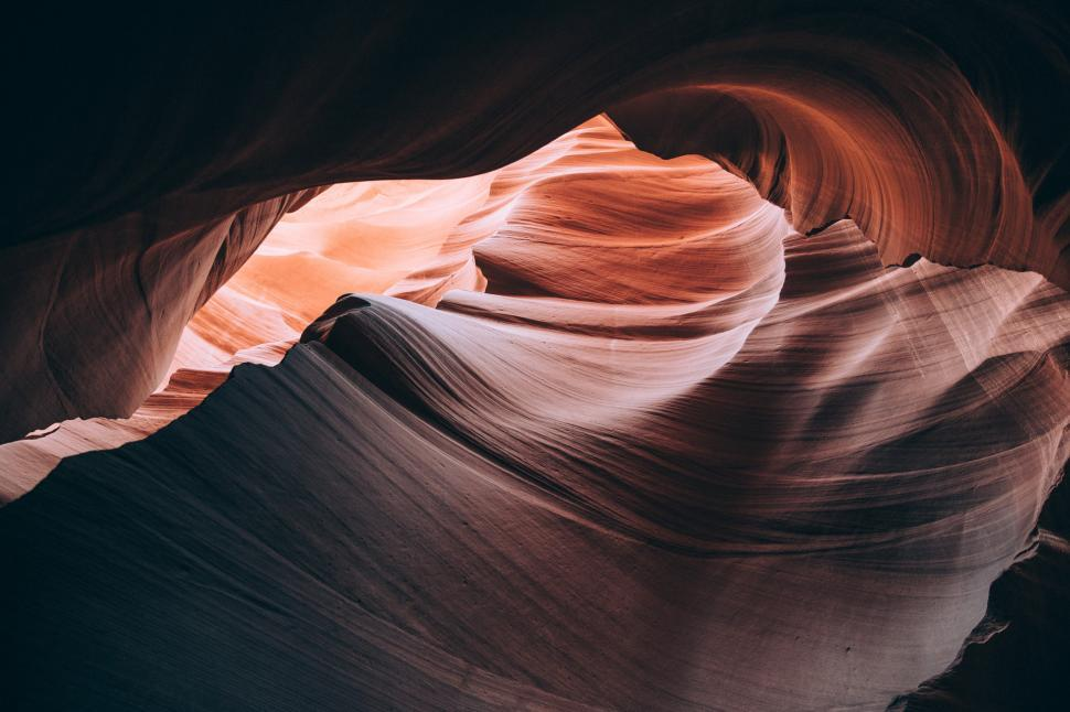 Download Free Stock HD Photo of Detail Inside Antelope canyon Online