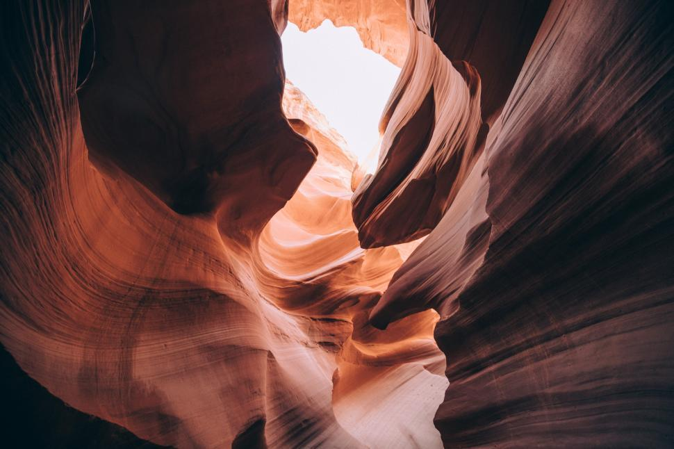 Download Free Stock HD Photo of Shapes Inside Antelope canyon, Arizona Online
