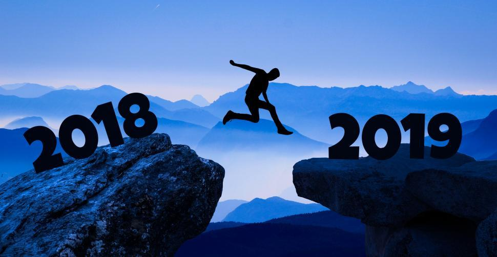 Download Free Stock HD Photo of reaching a new year  Online