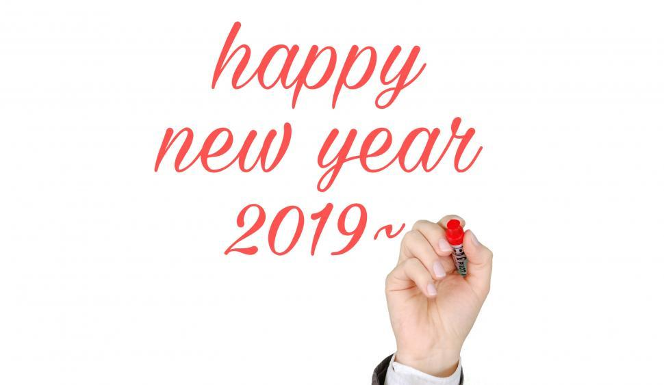 Download Free Stock HD Photo of 2019 New year  Online