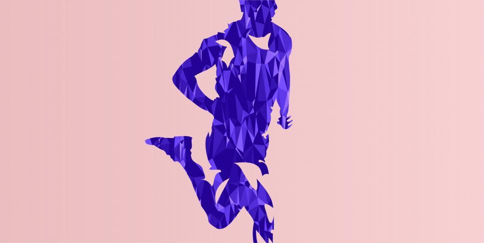 Download Free Stock HD Photo of Runner - Abstract Athlete  Online