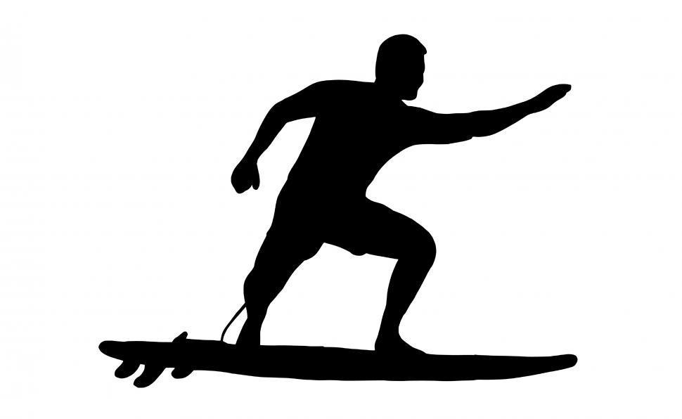 Download Free Stock HD Photo of surfer Silhouette  Online