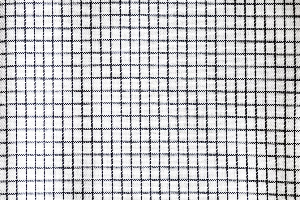 Download Free Stock HD Photo of Close up of a checkered fabric Online