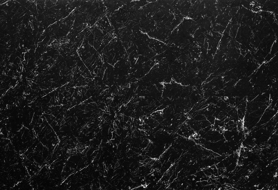 Download Free Stock HD Photo of Cracked surface texture on black marble Online