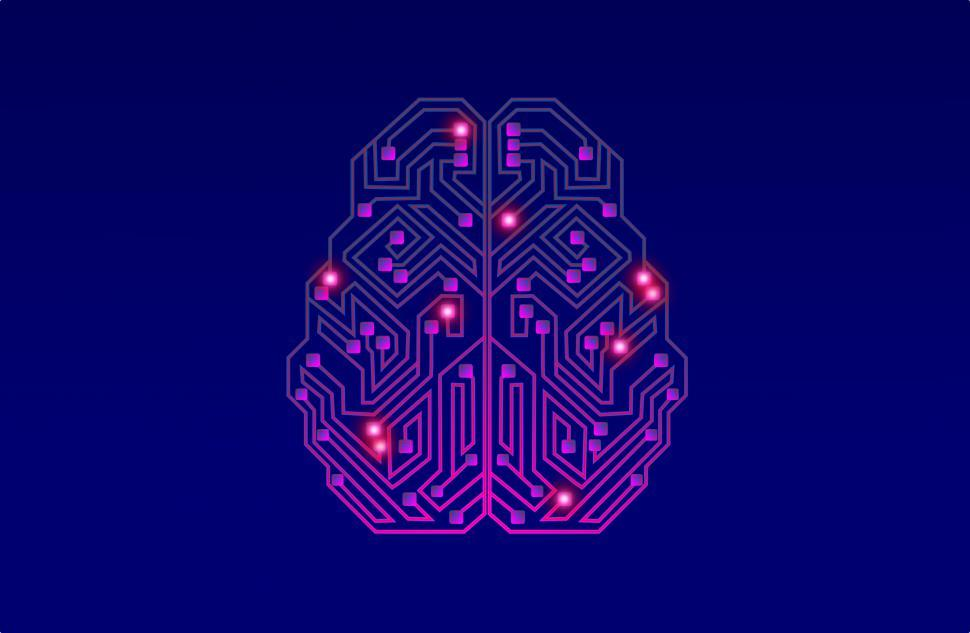 Download Free Stock HD Photo of Artificial Intelligence - Bright Brain  Online