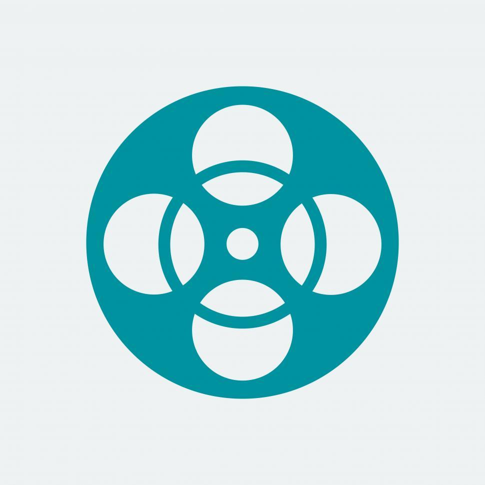 Download Free Stock HD Photo of Film reel Icon Online