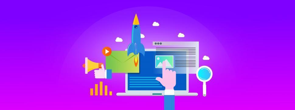 Digital Marketing Concept - Inbound Marketing