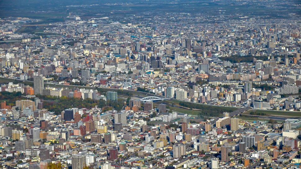 Download Free Stock HD Photo of Dense City in Japan  Online