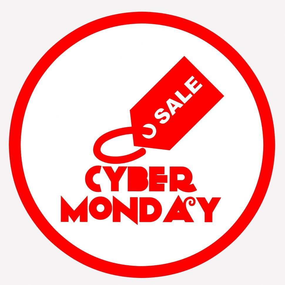 Download Free Stock HD Photo of cyber Monday  Online