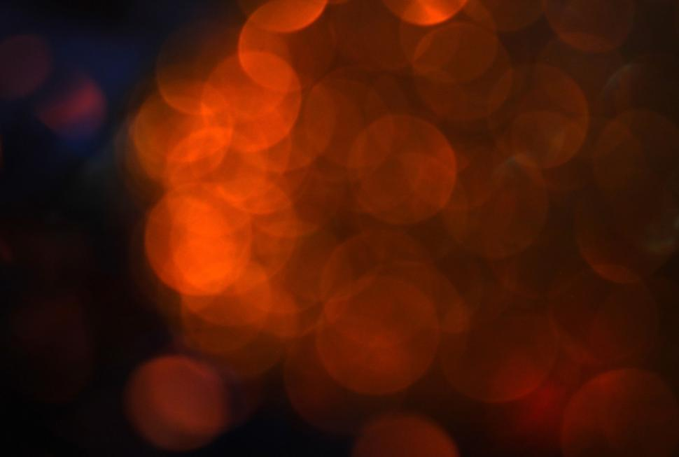 Download Free Stock HD Photo of Abstract Golden Light Bokeh Background  Online