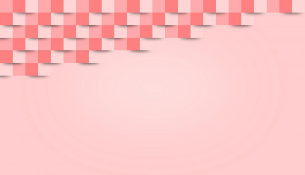 Download Free Stock HD Photo of Pink Abstract Geometric Background - With Copyspace  Online