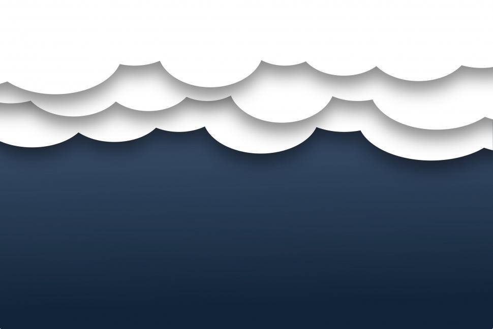 Download Free Stock HD Photo of Layered Abstract Clouds - Background with Copyspace  Online