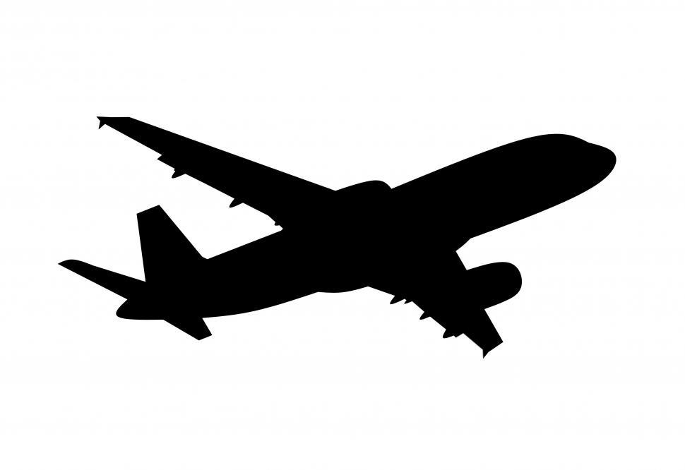 Download Free Stock HD Photo of Airplane silhouette   Online