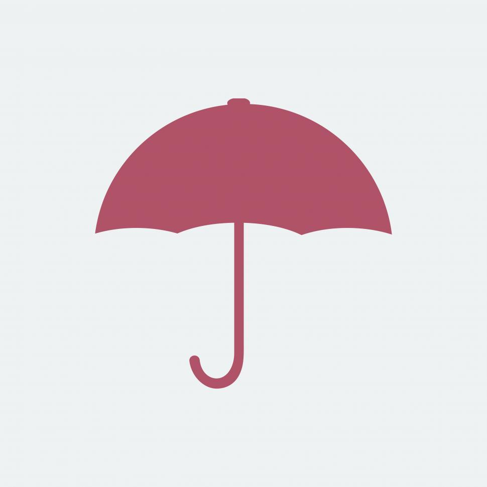 Download Free Stock HD Photo of Red umbrella symbol Online