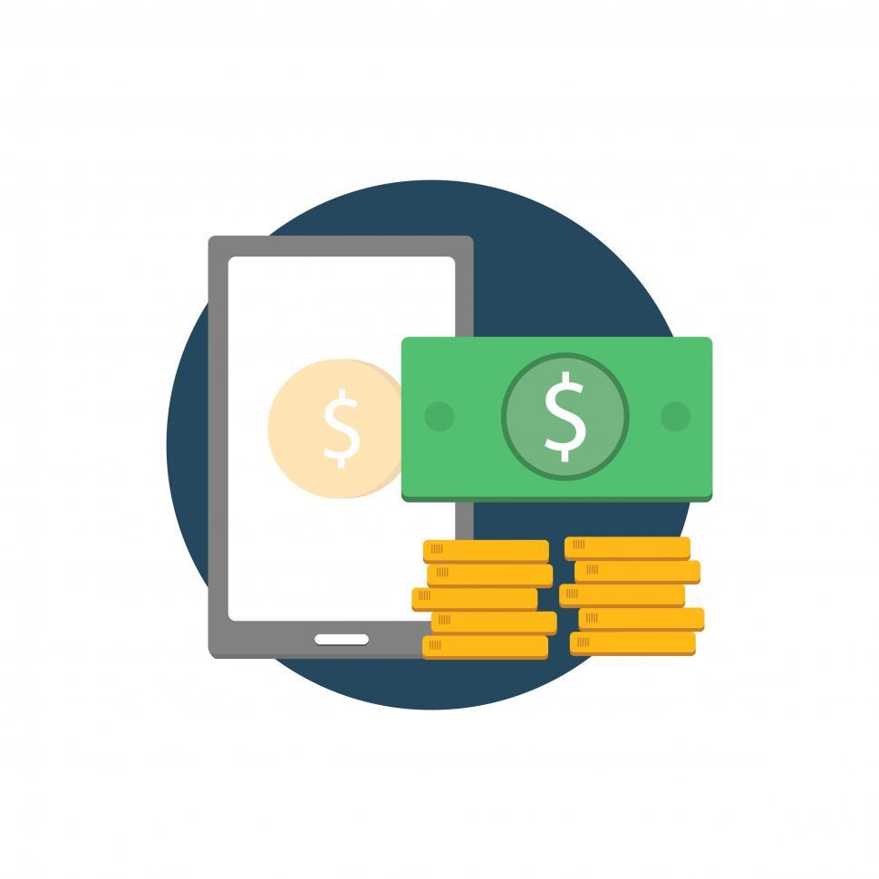 Download Free Stock HD Photo of Business and finance vector icon Online