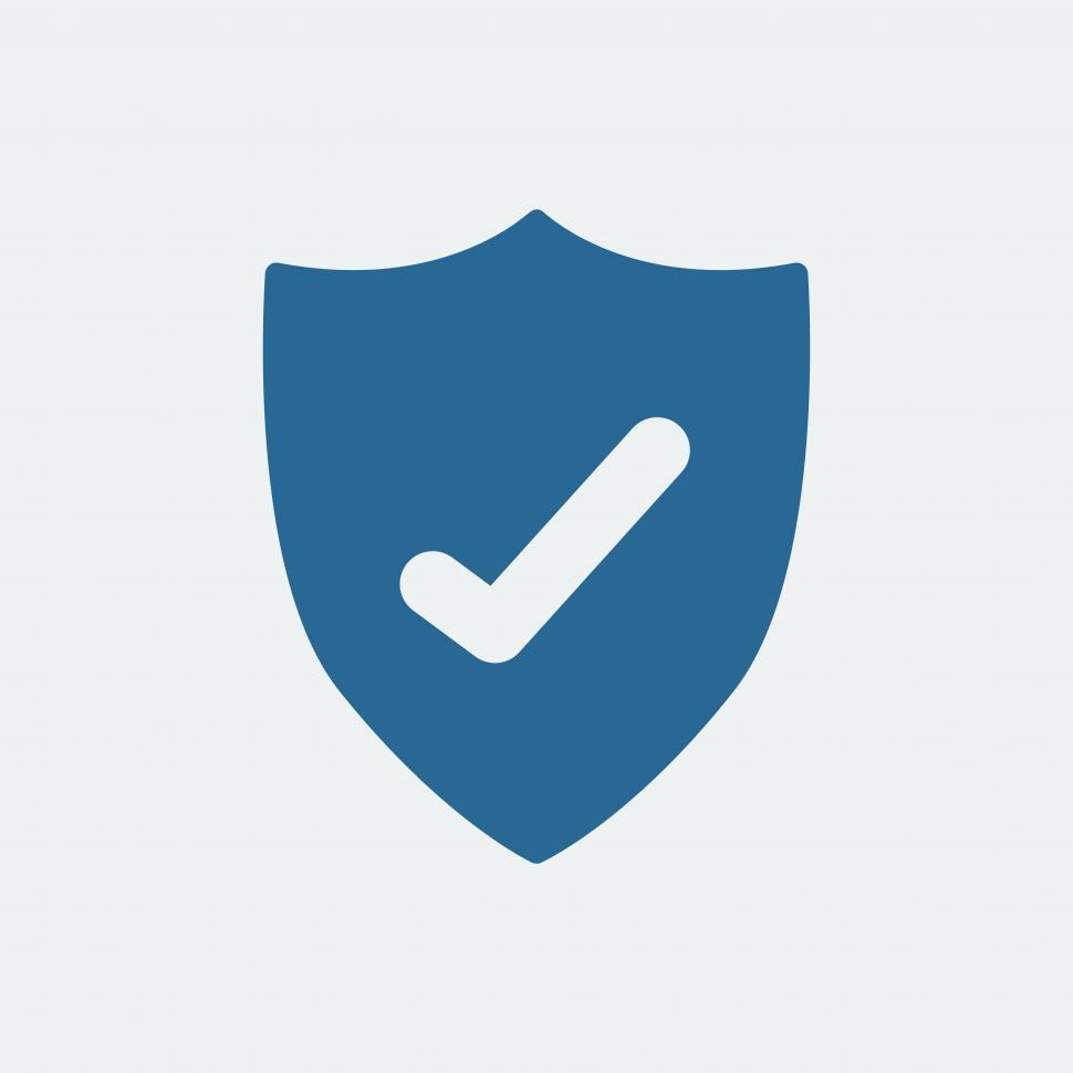 Download Free Stock HD Photo of Anti virus shield icon vector Online
