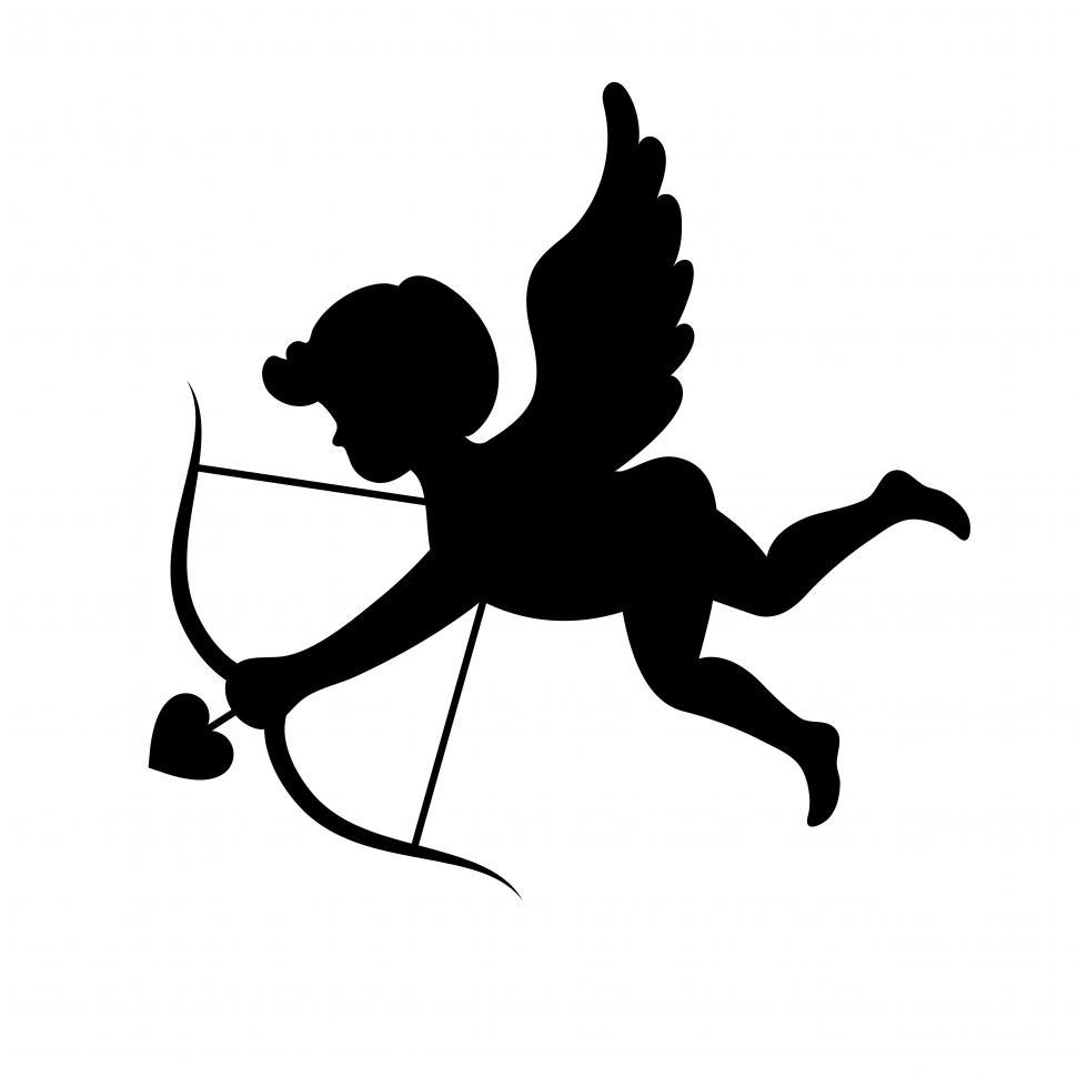Download Free Stock HD Photo of Cupid sign vector Online