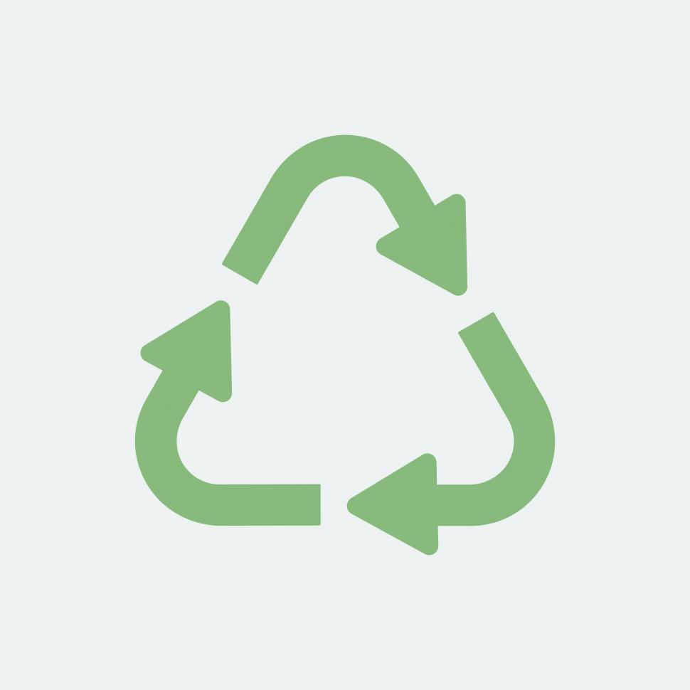 Download Free Stock HD Photo of Green recycling symbol Online