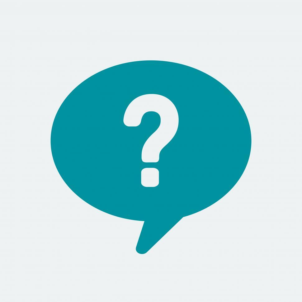 Download Free Stock HD Photo of Help speech bubble vector icon Online