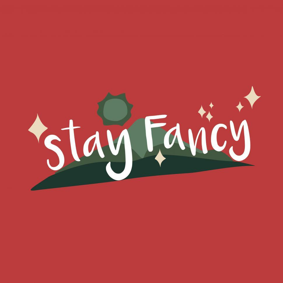 Download Free Stock HD Photo of Stay Fancy vector icon Online