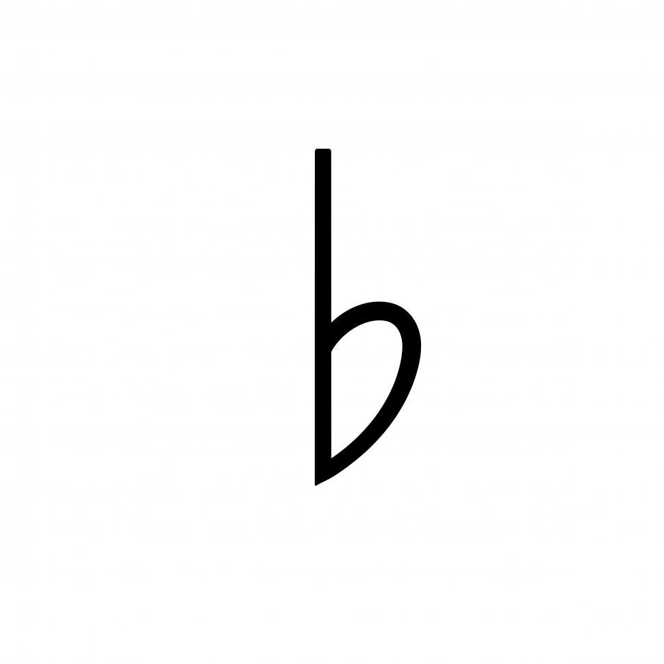 Download Free Stock HD Photo of Flat note music symbol Online