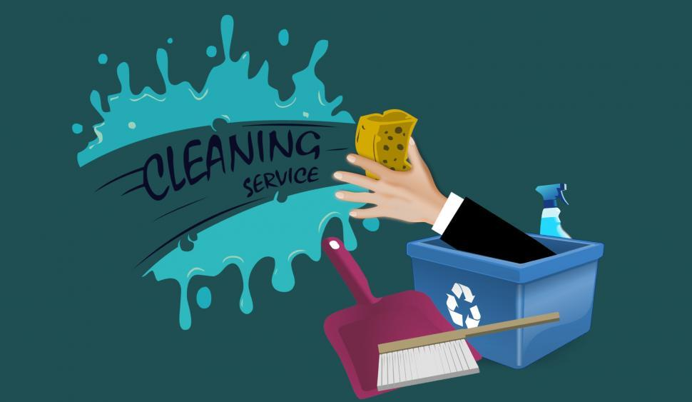 Download Free Stock HD Photo of Cleaning Service Illustration  Online
