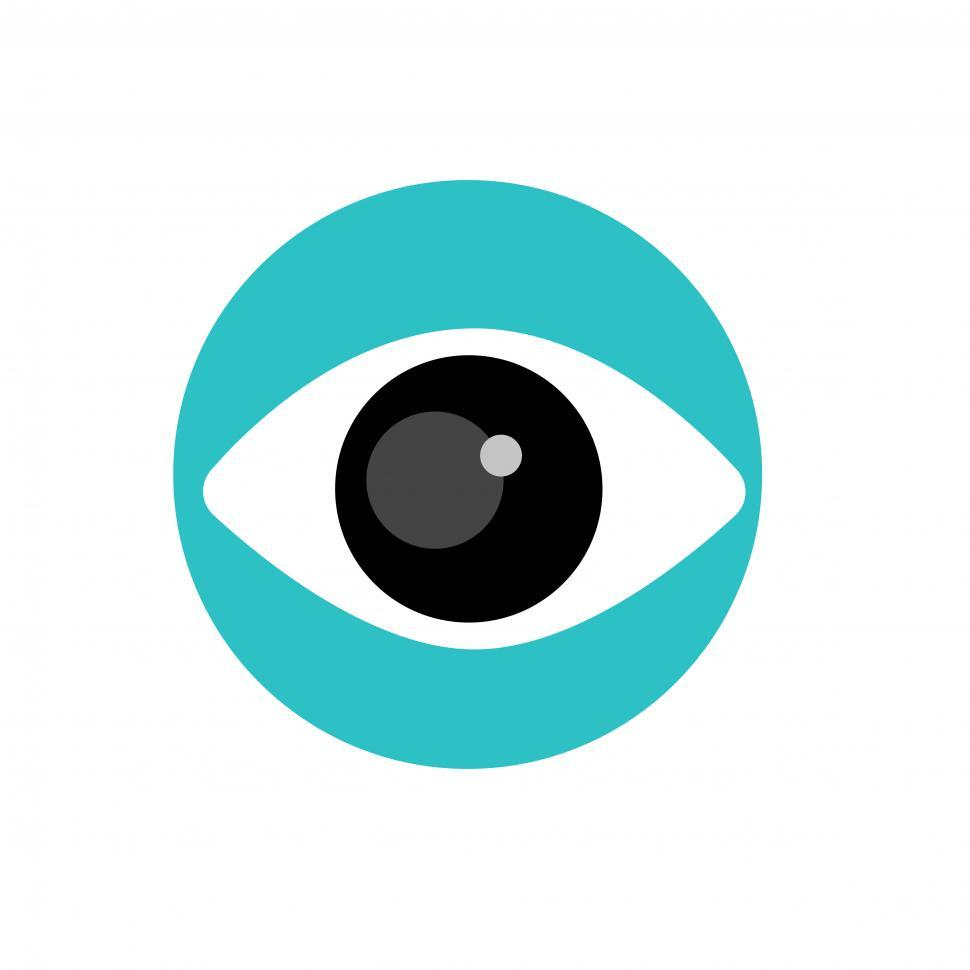 Download Free Stock HD Photo of Eye vector icon Online