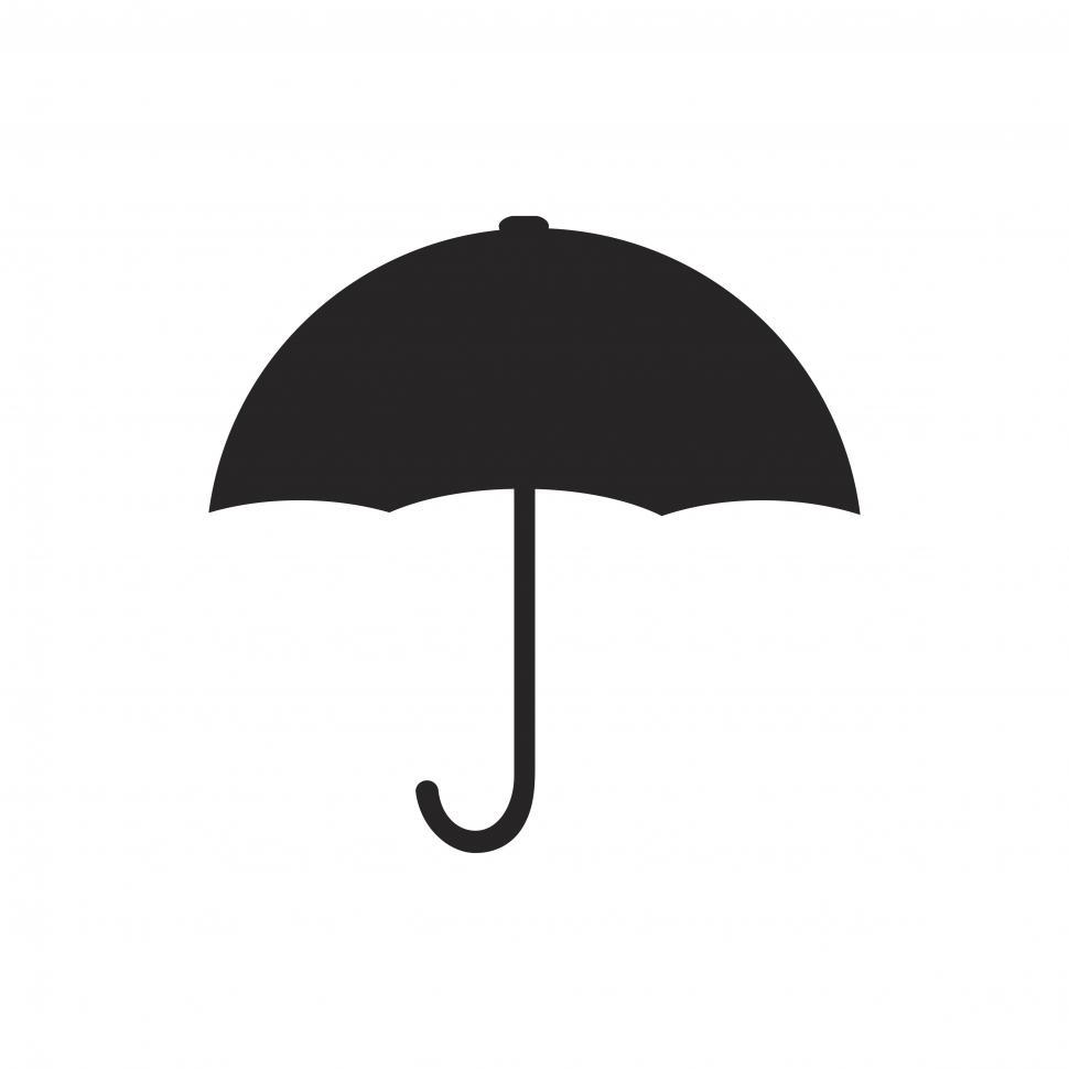 Download Free Stock HD Photo of Black umbrella symbol Online