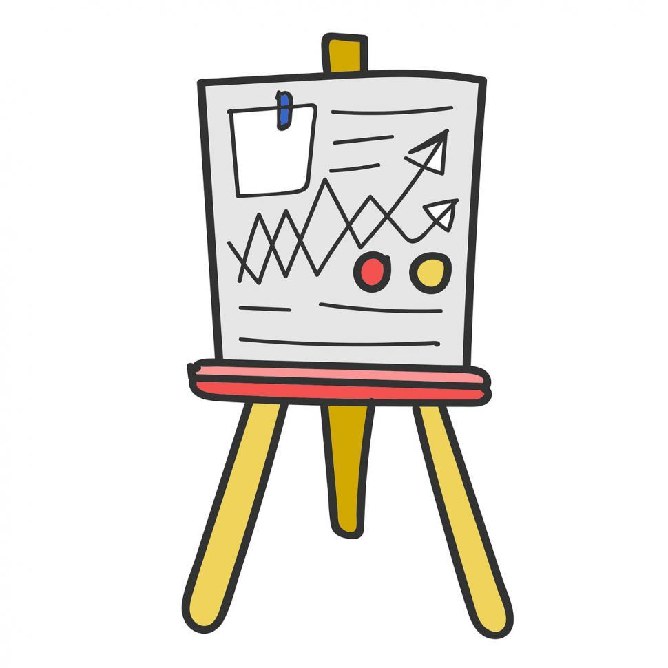 Download Free Stock HD Photo of Whiteboard icon vector Online