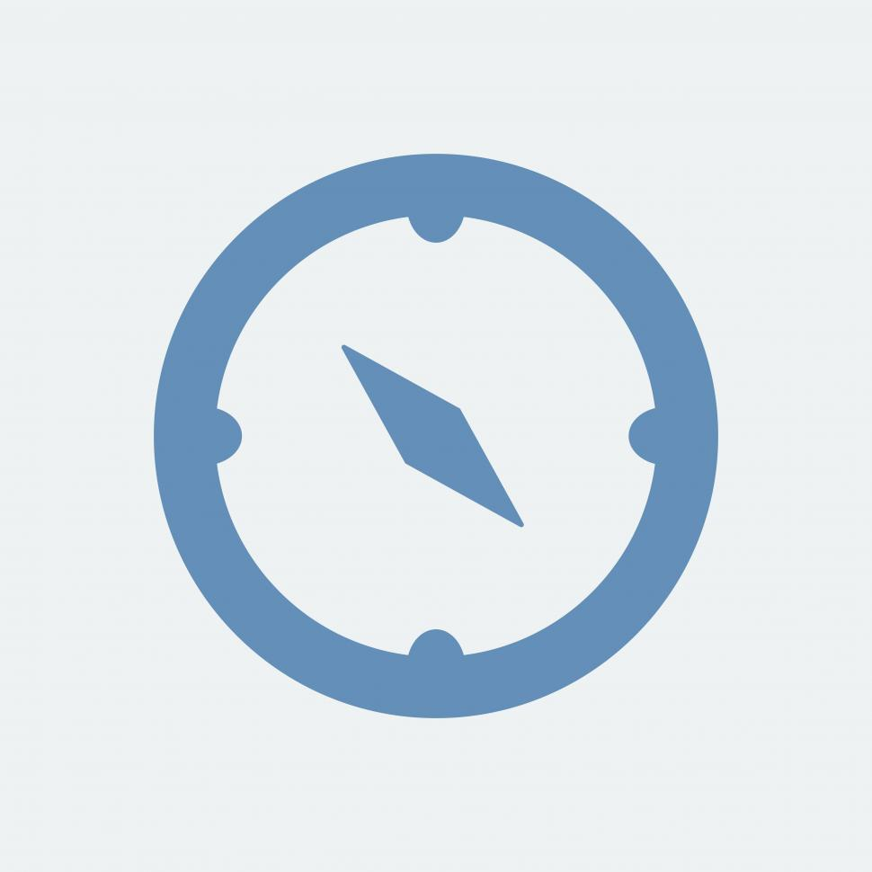 Download Free Stock HD Photo of Compass vector icon Online