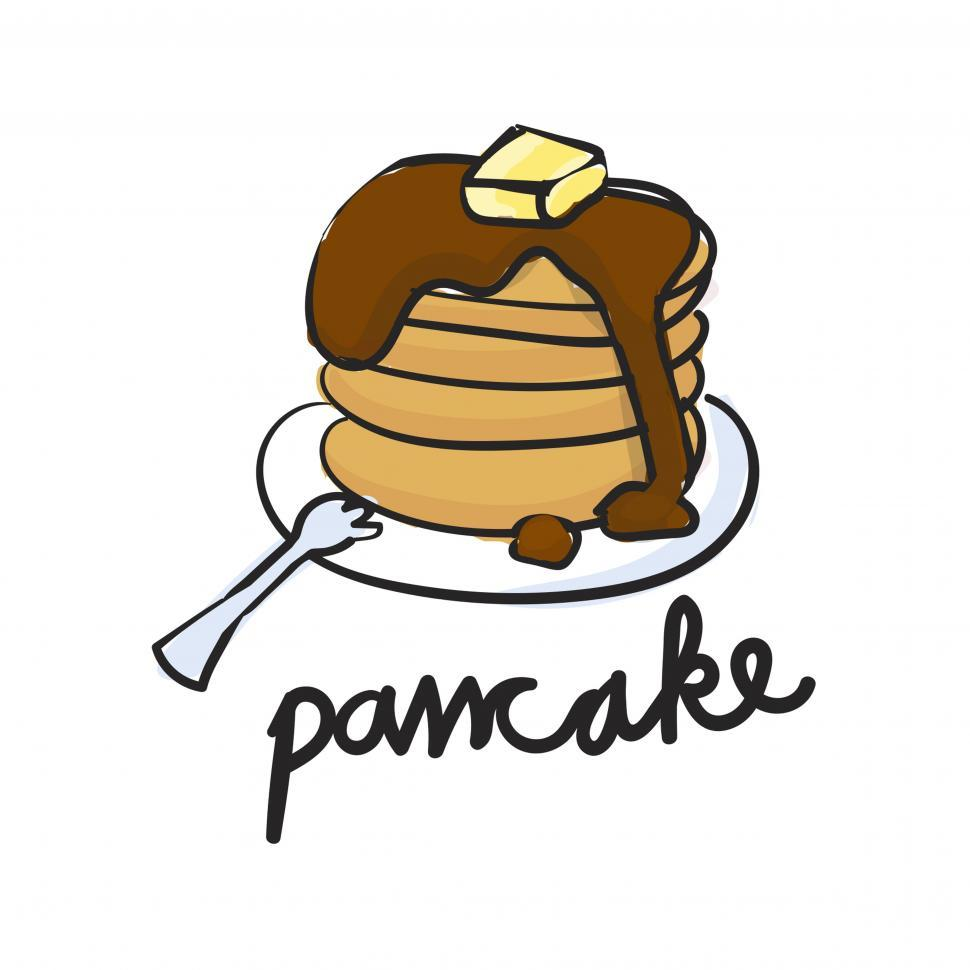 Download Free Stock HD Photo of Pan cake vector icon Online
