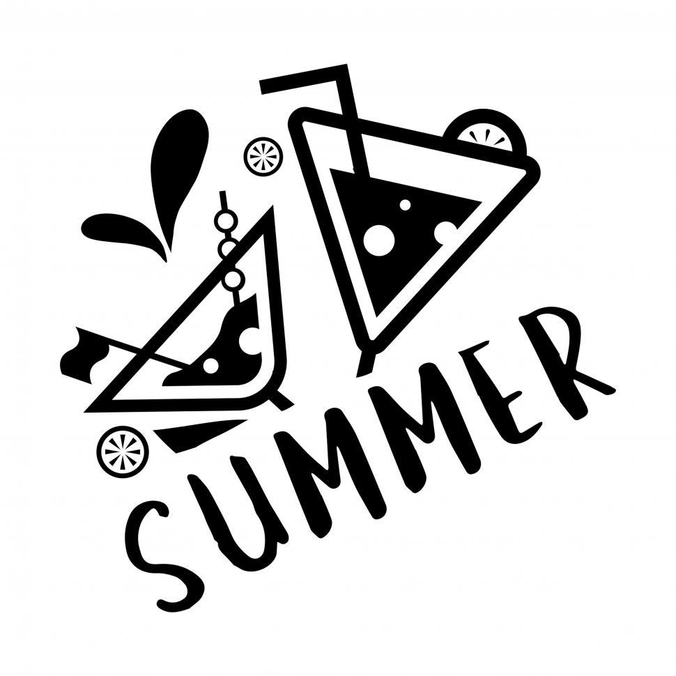Download Free Stock HD Photo of Summer adventure vector icon Online